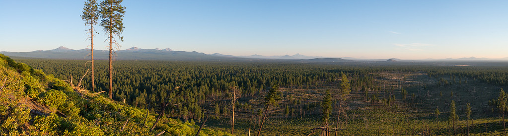 Central Oregon sunrise